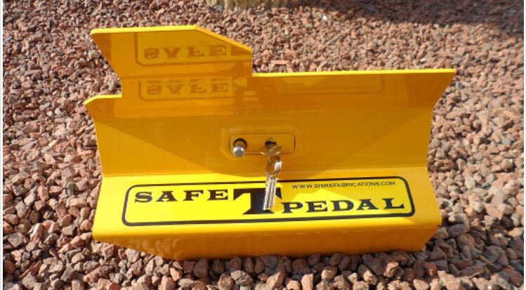 SAFE T PEDAL FOR COMMERCIAL VEHICLES