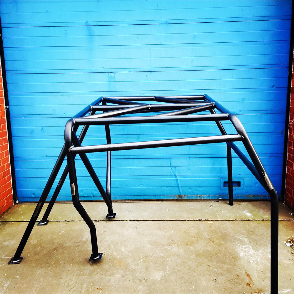 LAND ROVER DEFENDER 90 TRUCK CAB ROLL CAGE SATIN BLACK (COLLECTION ONLY)