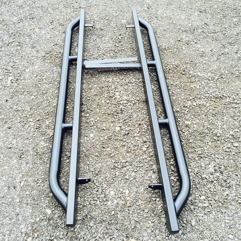 LAND ROVER DEFENDER 110 ROCK AND TREE SLIDERS 60MM TUBE