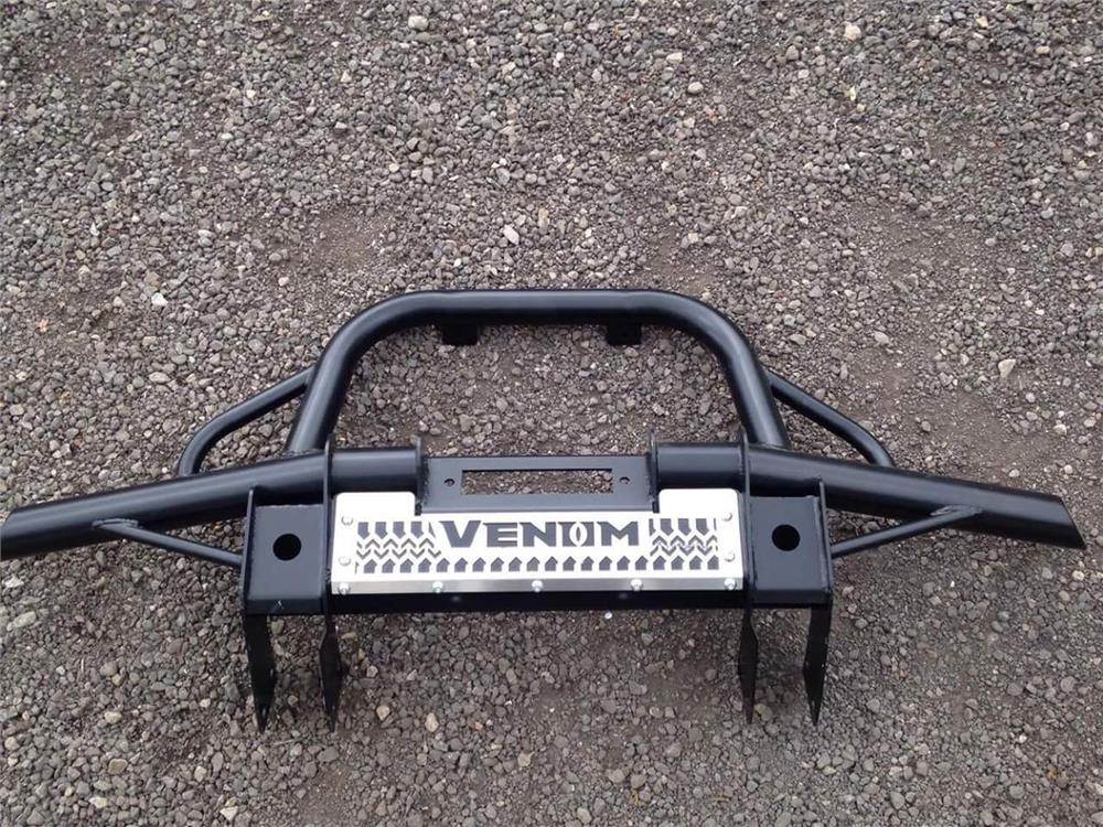 LAND ROVER DISCOVERY 1 TUBULAR WINCH BUMPER